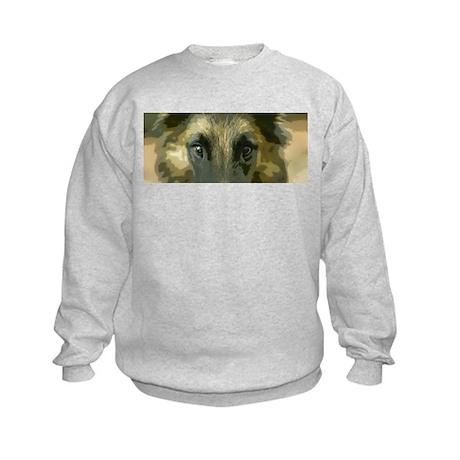 Eyes Kids Sweatshirt