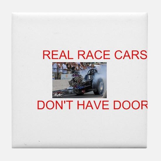 REAL RACE CARS Tile Coaster