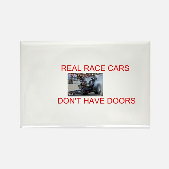 REAL RACE CARS Rectangle Magnet