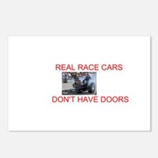 REAL RACE CARS Postcards (Package of 8)
