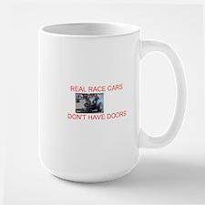 REAL RACE CARS Large Mug