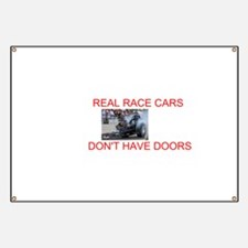 REAL RACE CARS Banner