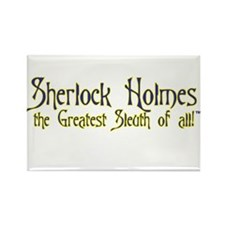 Sherlock the Sleuth Logo Magnet $4.99
