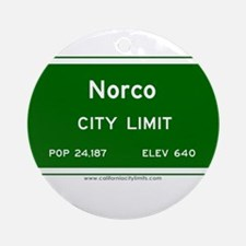 Norco Ornament (Round)