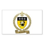 CAYOUETTE Family Crest Rectangle Sticker 50 pk)