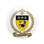"CAYOUETTE Family Crest 3.5"" Button"