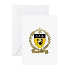 CAYOUETTE Family Crest Greeting Card