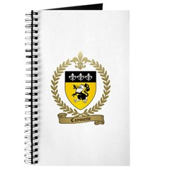 CAYOUETTE Family Crest Journal