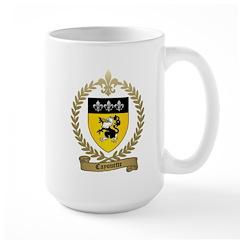 CAYOUETTE Family Crest Large Mug