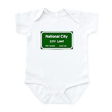National City Infant Bodysuit