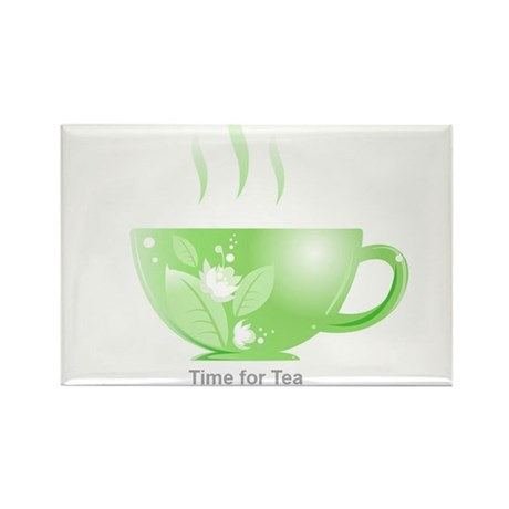 Time for Tea Rectangle Magnet (10 pack)