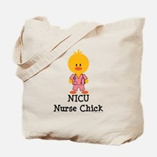 NICU Nurse Chick Tote Bag