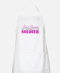Proud Grandma of a Soldier Apron
