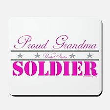 Proud Grandma of a Soldier Mousepad