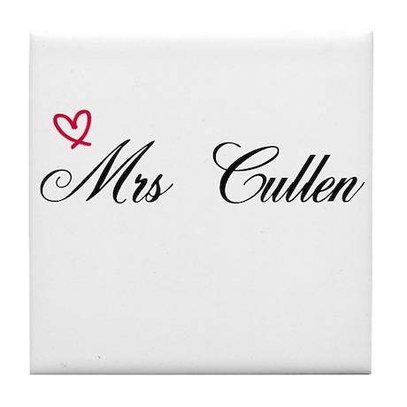 Mrs Cullen Tile Coaster