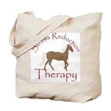 Stress Reduction Mountain Hor Tote Bag