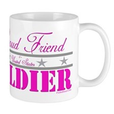 Proud Friend of a Soldier Small Mug