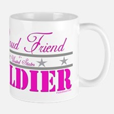 Proud Friend of a Soldier Small Small Mug