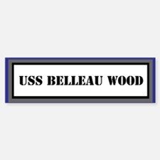 USS Belleau Wood Sticker (Bumper)