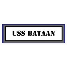 USS Battaan Bumper Sticker