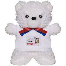 Unique Gamble Teddy Bear
