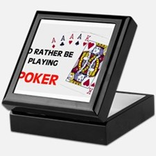 Cute Poker Keepsake Box