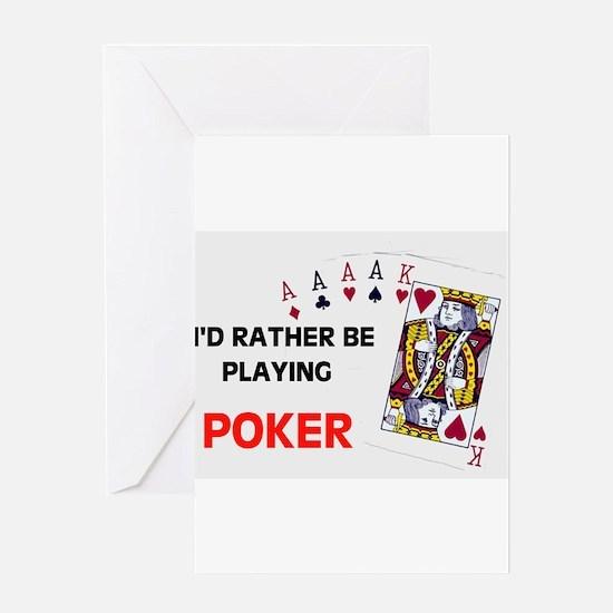 Cute Craps casino Greeting Card