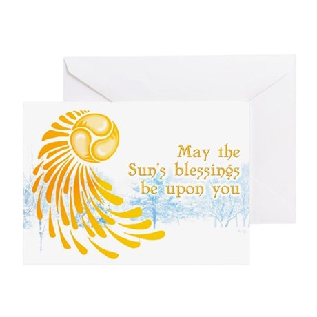 Solstice Swirl Greeting Cards