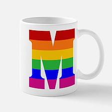 Rainbow Letter M Mug