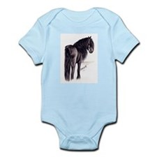Friesian Mare Infant Bodysuit