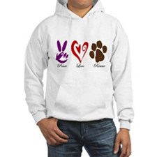 Peace, Love, Rescue Jumper Hoody