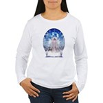 Winter Angel Women's Long Sleeve T-Shirt