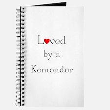 Loved by a Komondor Journal