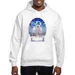 Winter Angel Hooded Sweatshirt
