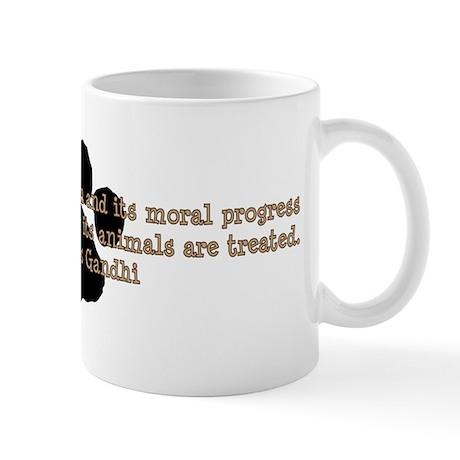 Gandhi Animal Quote Mug
