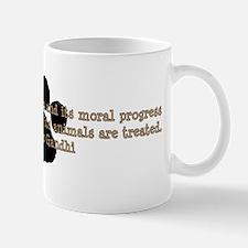 Gandhi Animal Quote Small Small Mug