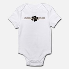 Gandhi Animal Quote Infant Bodysuit