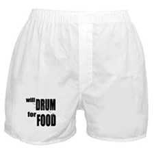 Will Drum For Food Boxer Shorts