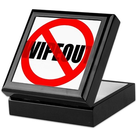 NO Wipeout Keepsake Box