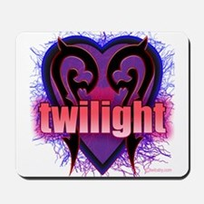 Twilight Grabs My Heart Mousepad