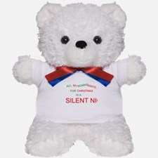 Silent Night Teddy Bear