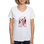 Angel Bride Women's V-Neck T-Shirt
