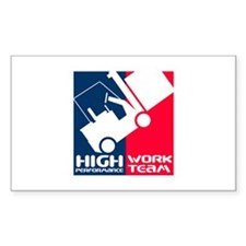 High Performance Rectangle Decal