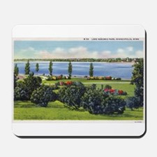 1935 View of Lake Nokomis Mousepad
