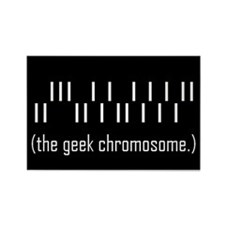 Funny Science geek Rectangle Magnet (10 pack)