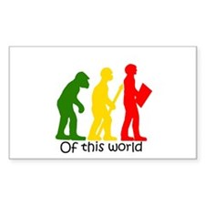 """""""Of this world"""" multi colored Decal"""