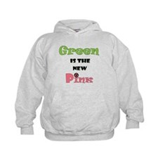 Green is the New Pink Hoodie