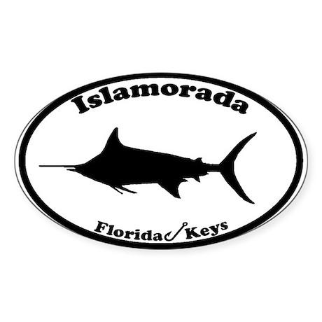Islamorada FL Oval Sticker
