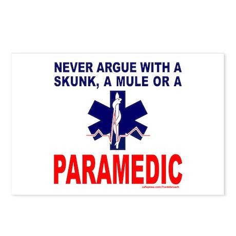 PARAMEDIC/EMT Postcards (Package of 8)