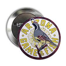 "Arizona Game and Fish 2.25"" Button"